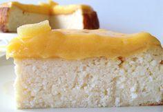 tartas delikatissen tartas de queso tarta quesada tradicional Tarta de requesón y crema de limón (lemon curd) receta requesón postres reques...