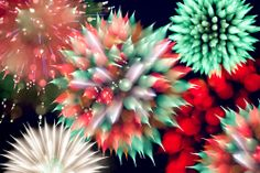 The fireworks of the universe