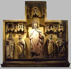 Retablo de Santiago,  museo de la Colegiata de Covarrubias, +/- 1440, Bruxelles