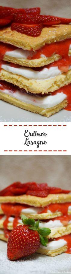 Erdbeer-Lasagne