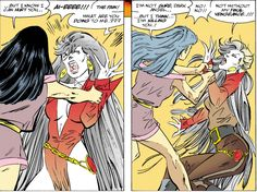 From Wonder Woman Vol 2 #135 writing and art by John Byrne