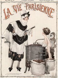 René Vincent (1879–1936). La Vie Parisienne, 24 Novembre 1917. [Pinned 23-v-2015]