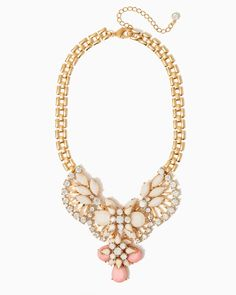Candied Glam Bib Necklace | UPC: 450900462468 #charmingcharlie #colorfulnewarrivals