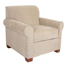 EdgecombeFurniture Finn Arm Chair Finish: Empire Mahogany, Upholstery: Deacon Black