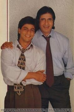Shahrukh and Amitabh Bachchan