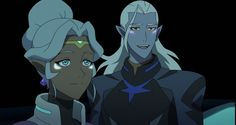 THEY DID THAT!! Lotor, Allura, Voltron