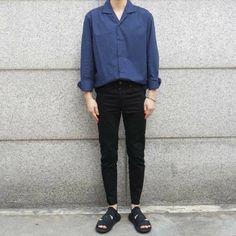 Korean Fashion Men, Korea Fashion, Asian Fashion, Daily Fashion, Boy Fashion, Mens Fashion, Fashion Outfits, Style Fashion, Estilo Street