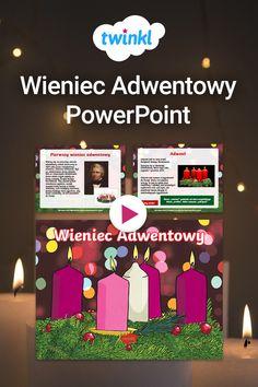 Wprowadź przed-świąteczną atmosferę do swojej klasy dzięki tej pięknie ilustrowanej prezentacji PowerPoint o wieńcu adwentowym. Objaśnia krótką historię wieńca, oraz symbolikę jego poszczególnych elementów. Odliczania do Świąt czas zacząć! #adawent #wieniecadwentowy #wieniec #adwentowy #święta #bozenarodzenie #swietabozegonarodzenia #twinkl #materiały #prezentacja #powerpoint #zima #grudzien #religia #swieta #szkola #podstawowa #nauka #nauczaniedomowe Esl, Frame, Home Decor, Picture Frame, Decoration Home, Room Decor, Frames, Home Interior Design, Home Decoration