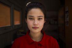 A donut seller in Bishkek, Kyrgyzstan (The Atlas of Beauty - Mihaela Noroc)