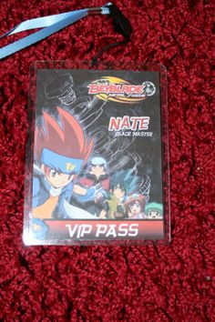 Each child was issued with a VIP pass on proving their fitness to allow them entry to the Beyblade Party Tournament.