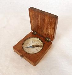 Antique Brass Nautical Vintage Titanic Magnetic Compass Rosewood With Wooden Box Suitable For Men And Children Women