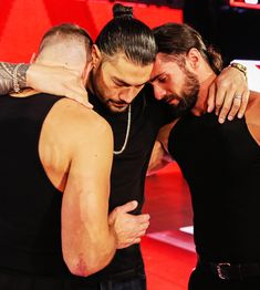 Jonathan Good Leati Jospeh Anoa'i & Colby Lopez together as The shield for the last time while Leati take leave of WWE to fight the Leukemia Roman Reigns Logo, Wwe Roman Reigns, Brie Bella, Nikki Bella, Wrestling Memes, Becky Wwe, Roman Reigns Dean Ambrose, Wwe Seth Rollins, Roman Regins