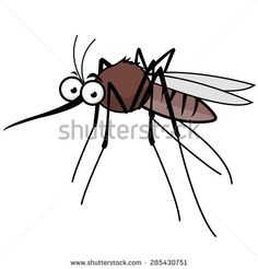 cartoon mosquito - Google Search