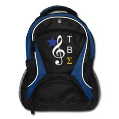 TAU BETA SIGMA BACKPACK ~ You know I MUST get this! TBS For Life!!!