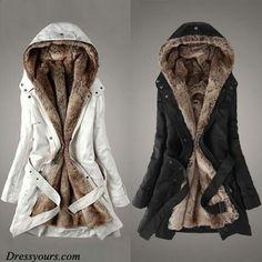 My kinda coat! ♡ ♡ ♡ I'll take the white one