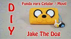 FUNDA PARA CELULAR | JAKE THE DOG / EL PERRO | ADVENTURE TIME | DIY | MA...