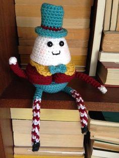 Humpty Dumpty Puzzle Doll - free crochet pattern