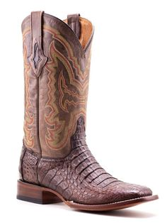 Mens Lucchese Hornback Crocodile M4539 - Texas Boot Company is located in Bastrop, Texas. www.texasbootcompany.com