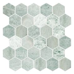 Tempesta Neve Pol Hex 2 Quot The Tile Co 15 99 Sf Marble