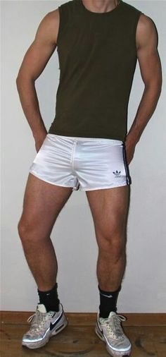 Sex in adidas sprinter shorts