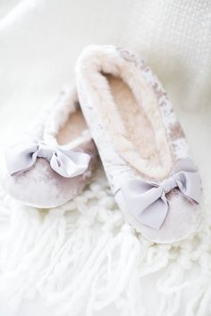 LC Lauren Conrad Bow Accent Plush Ballet Slippers with Sleep Mask | Available at Kohl's and on Kohls.com