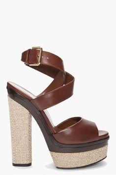 YVES SAINT LAURENT Flirty Platform Heels