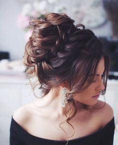 Beautiful messy up do