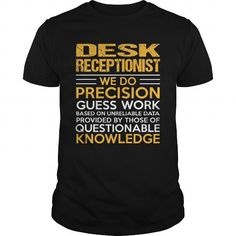 DESK RECEPTIONIST T-Shirts, Hoodies, Sweatshirts, Tee Shirts (22.99$ ==► Shopping Now!)