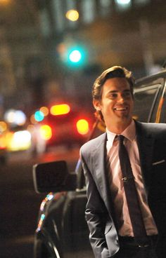 """Christian is waiting for me and his face lights up when I come out onto the sidewalk."" -Ana #FiftyShades - Matt Bomer as Christian Grey"