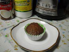 Não Contém Gluten: Cupcake de Chocolate com Whey Protein Não Contém Gluten, Cereais, Lactose e Açúcar