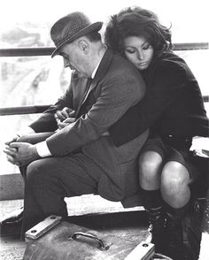 One of my favorite pictures of all time <3 Sophia Loren ~ this is one of the most beautiful women!!