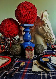 Setting the Mood: RUN FOR THE ROSES: Kentucky Derby Party