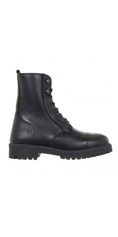 Buy Ivan Grundhal Black Boots   idaretobe UK online stockist