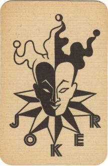 """Made in France by a small playing card manufacturer, Perceval, and published as """"nr 283"""", probably in the 1940's or 1950's."""