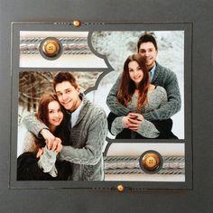 Joyeuse Saint Valentin !   Azza - Leader du scrapbooking Mosaic Wedding, Scrapbook Templates, Wedding Scrapbook, Creations, Frame, Cards, 2 Photos, Kit Studio, Eole