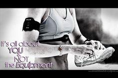 Nichts und niemand ist dafür verantwortlich, dass du dich aufmachst; dass du dir deine Schuhe schnürst; dass du dir das Radtrikot überstreifst; dass du dir die Schwimmbrille aufsetzt; dass du dir deine Yogamatte ausrollst. { via @eiswuerfelimsch } { #motivation #laufen #running #quote #sport #triathlon #cycling #swimming #fitness } { #pinyouryear }