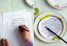 Handmade - Do it yourself: Porzellan bemalen
