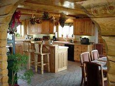 primitive country home decor | Rustic Log Cabin Interior Decor: Forest Home Rustic Decor Art Prints ...