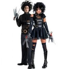 Mr & Miss Edward Scissorhands Combo [GIO67473] - £81.99 : Get It On Fancy Dress Superstore, Fancy Dress & Accessories For The Whole Family. http://www.getiton-fancydress.co.uk/adults/couplescostumes/mrmissedwardscissorhandscombo#.Ungt51OnIYI