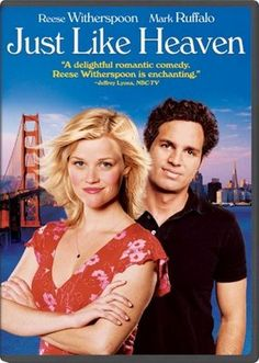 (2005) Just Like Heaven - A lonely landscape architect falls for the spirit of the beautiful woman who used to live in his new apartment. - http://www.imdb.com/title/tt0425123/?ref_=fn_al_tt_1     Oh How I love this movie!!! It's different, but soooooo good!