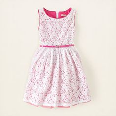 girl - pop lace dress | Children's Clothing | Kids Clothes | The Children's Place