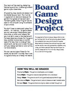 Board Game Design Project