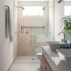 Que revestimentos usar dentro do boxe do banheiro?