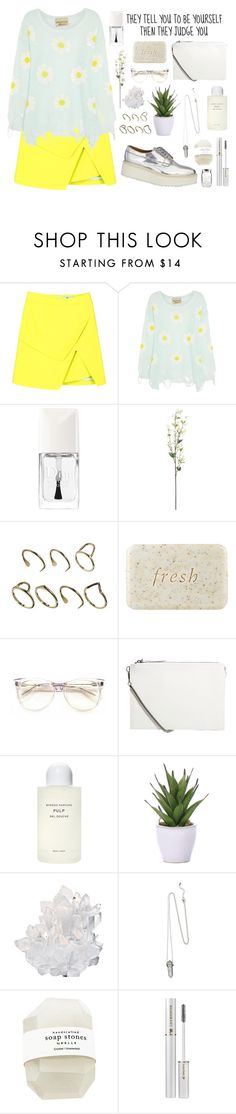 """""""Untitled #1681"""" by katerina-rampota ❤ liked on Polyvore featuring Wildfox, Christian Dior, Linea, ASOS, Fresh, Monki, Byredo, Lux-Art Silks, McCoy Design and Lancôme"""