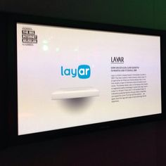 Layar on display at the internet museum in Amsterdam.