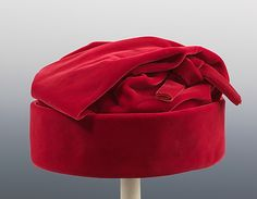 Hat | Cristóbal Balenciaga (Spanish, 1895-1972) | Date: ca. 1963 | Material: silk | The Metropolitan Museum of Art, New York