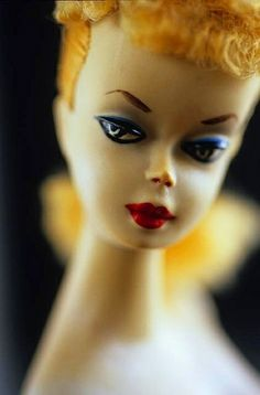 The first Barbie came out in 1959 and is known by collectors as the No.1. Valued at up to $10,000, a vintage example like this will never grace my collection!