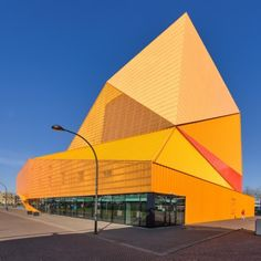 Agora Theater is a multifunctional building, Conveniently located in Lelystad. #Architecture #Building #Design