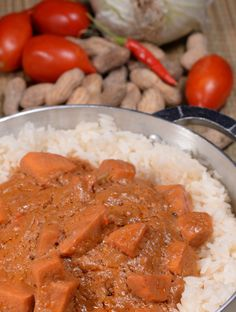 Domodah or Domoda as it is called in The Gambia is the familiar peanut, tomato and onion flavor West African cuisine is known for. Learn about the country and get the recipe at http://www.internationalcuisine.com it's free!