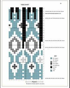 Fair Isle Knitting Patterns, Knitting Charts, Sweater Knitting Patterns, Knit Patterns, Sock Knitting, Free Knitting, Stitch Patterns, Fair Isle Chart, Norwegian Knitting